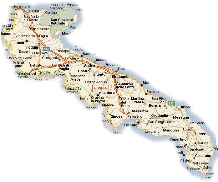 Cartina Dettagliata Puglia.Cerca Utenti In Puglia